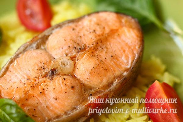 аппетитный кусочек рыбы