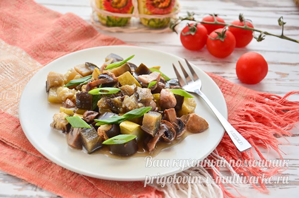 соте из овощей