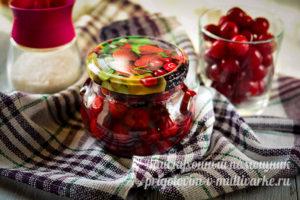 рецепт вишневого варенья с косточкой