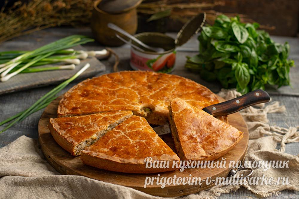 пирог с консервной
