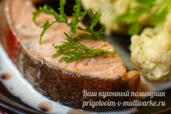 рыба с капустой на ужин