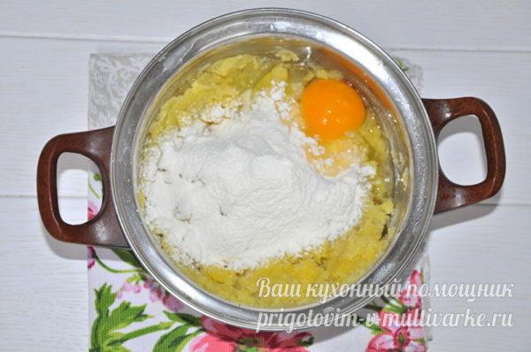 мука и яйца