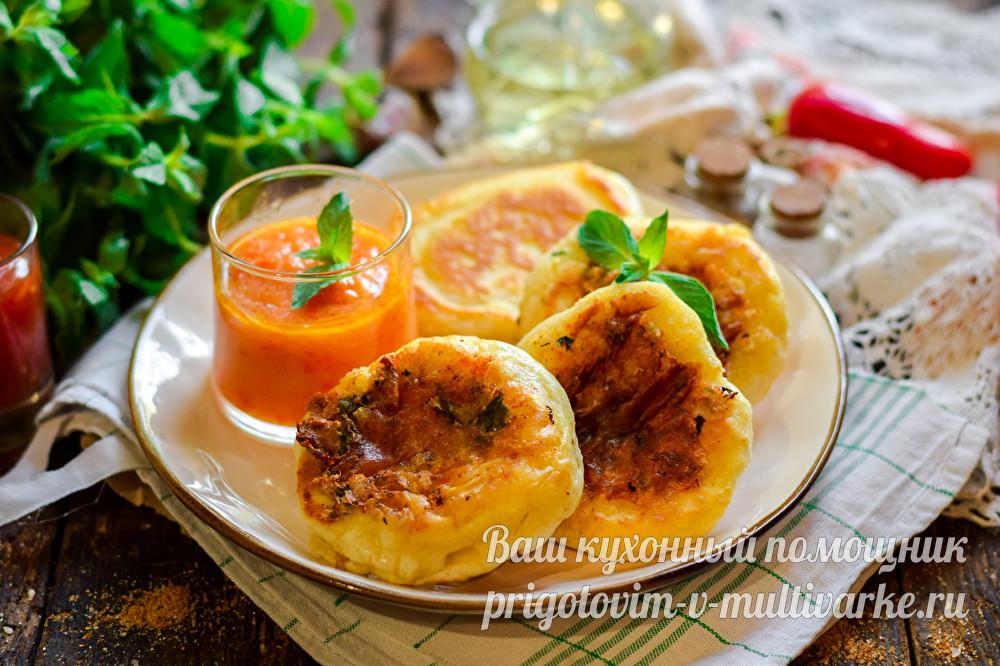 вкусные оладушки как хачапури