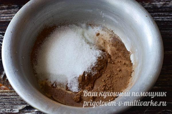 сахар и какао