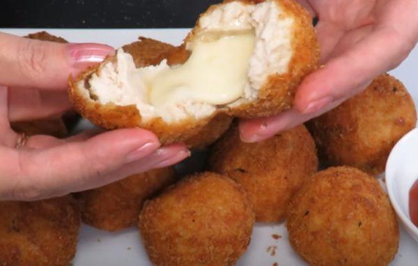 нагетсы с сыром