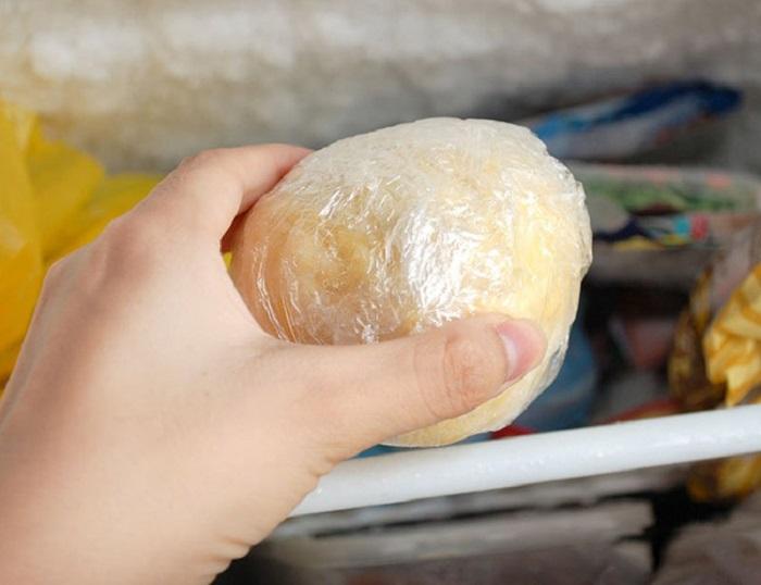 тесто в холодильнике