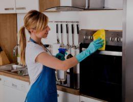 Чистка ручек кухонной плиты