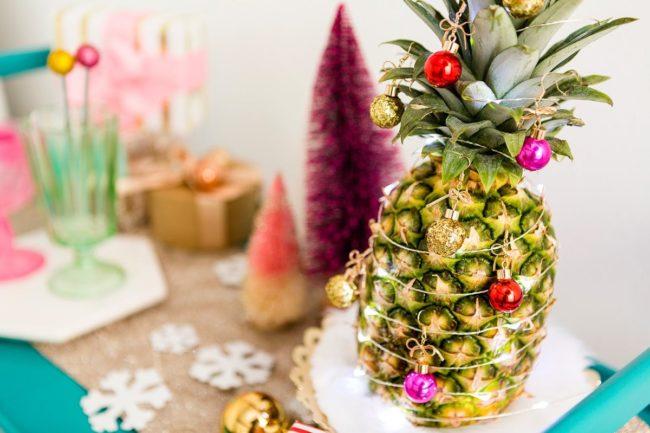 Как хранить ананас до нового года