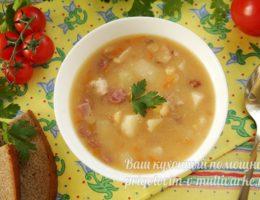 суп в тарелке