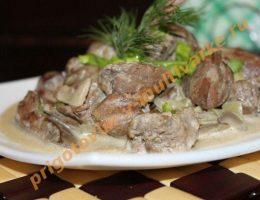 Рецепт куриной печени в мультиврке поларис