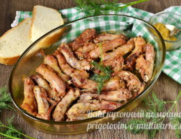 Куриные шейки запеченные