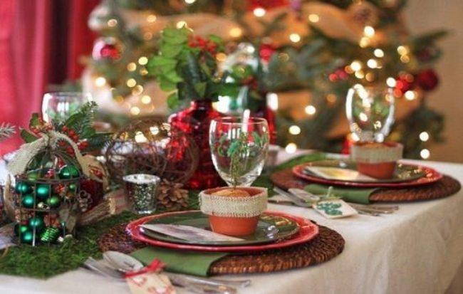 Сервировка новогоднего стола 2017: фото-идеи