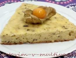 сырный пирог в мультиварке