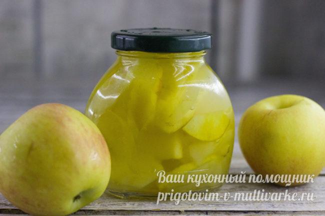 яблоки и варенье из них
