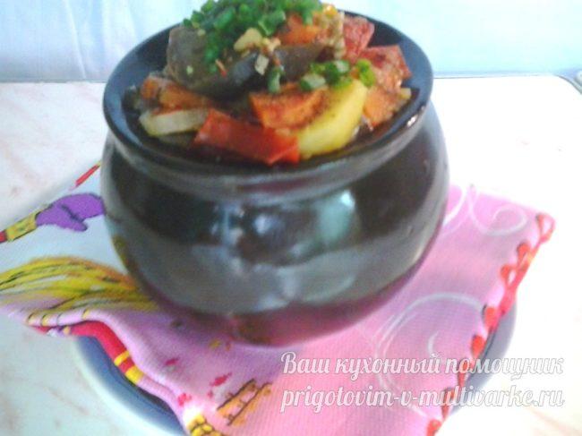 Рагу из овощей