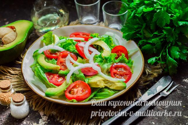 вкусный, диетический салат