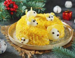мышки на сыре