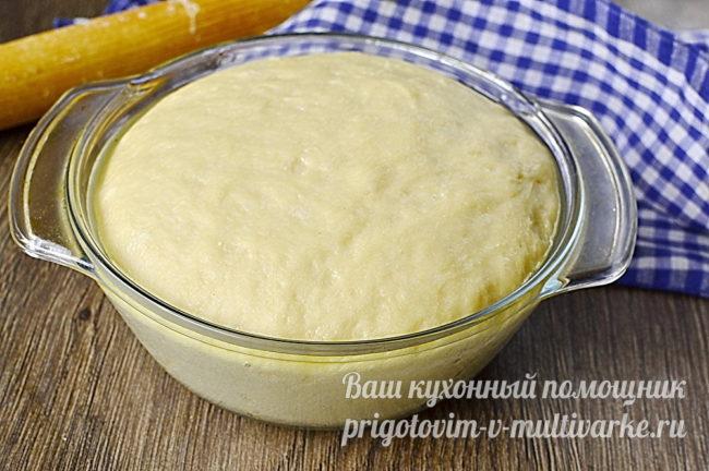 горовое тесто для булочек