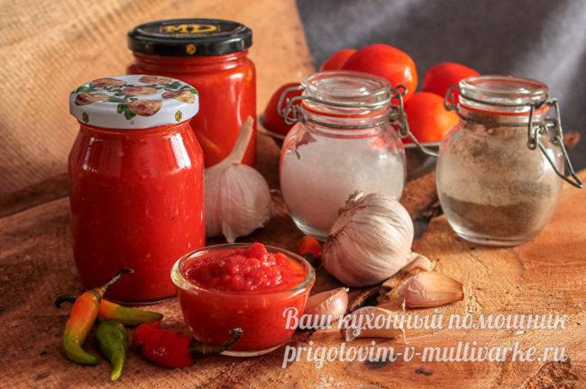 соус из томатов без лука