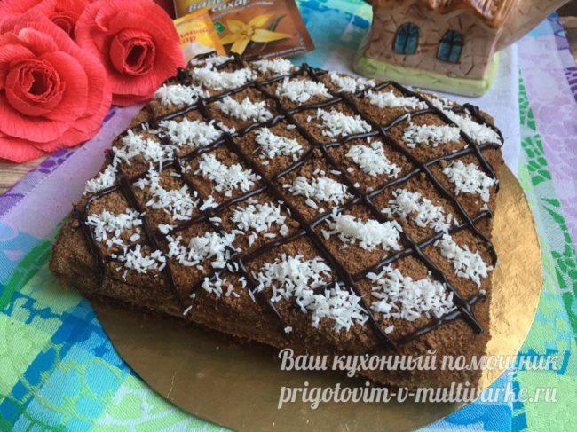 домашний торт