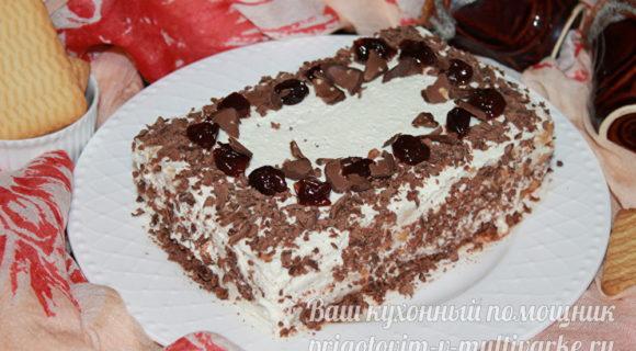сочный и вкусный торт за 15 минут