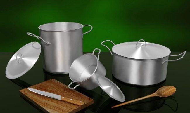 Удаление жира с посуды