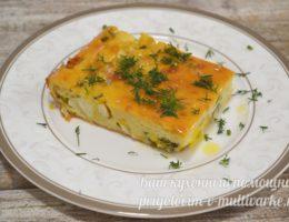 заливной пирог с луком и яйцом
